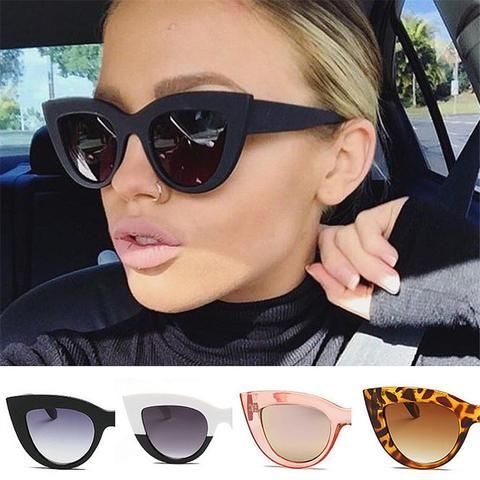07fc29e316dfa Image of Women Cat Eye Style Sunglasses Retro - Sport Pet Shop ...