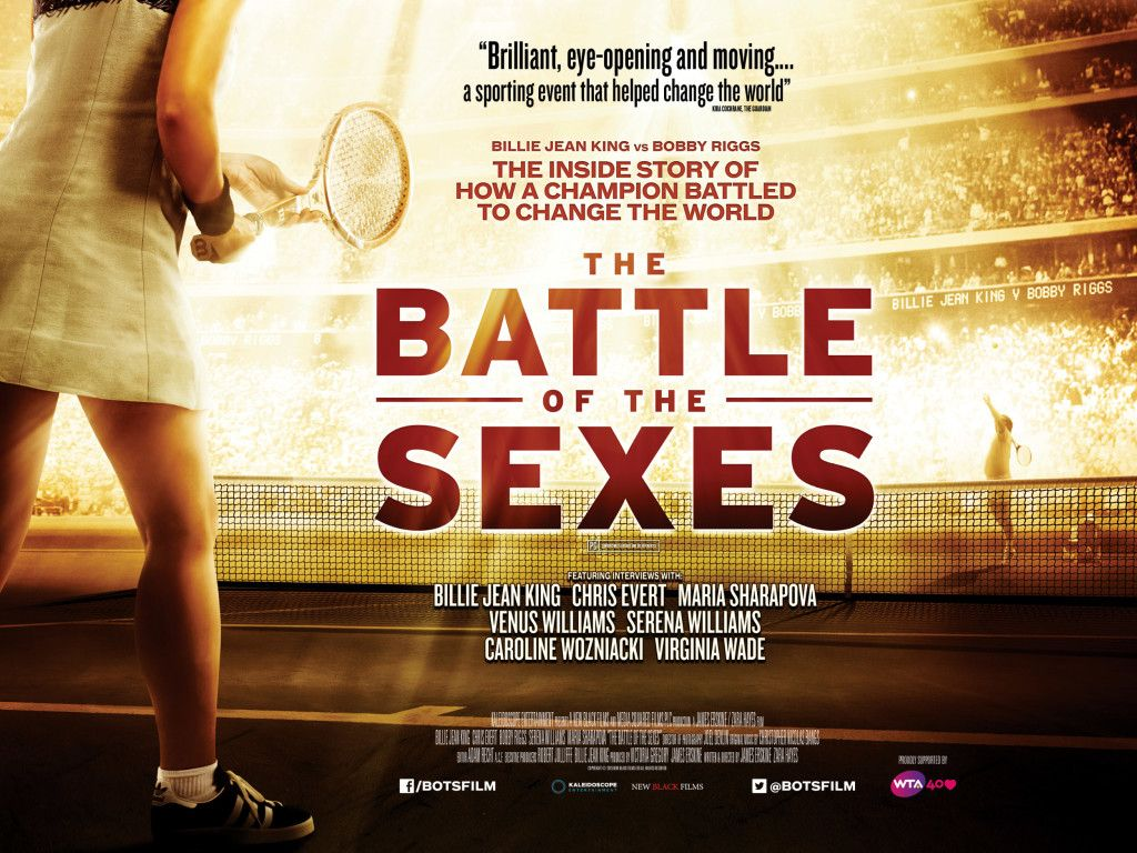 The Battle Of The Sexes Quad Movie Poster Thebattleofthesexes Poster Film Geek Billie Jean King Movie Posters Battle