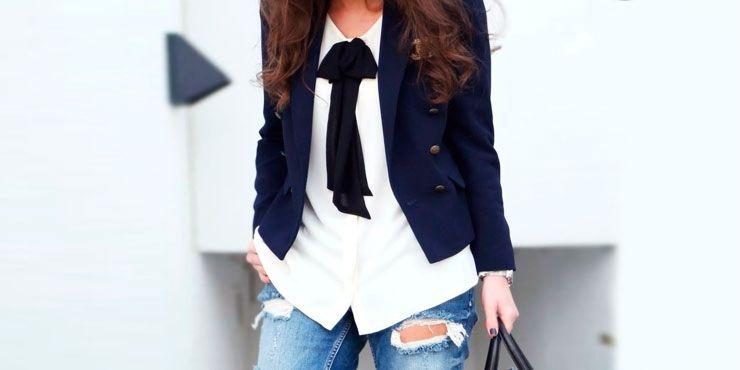 Cómo usar un blazer sin verte aseñorada
