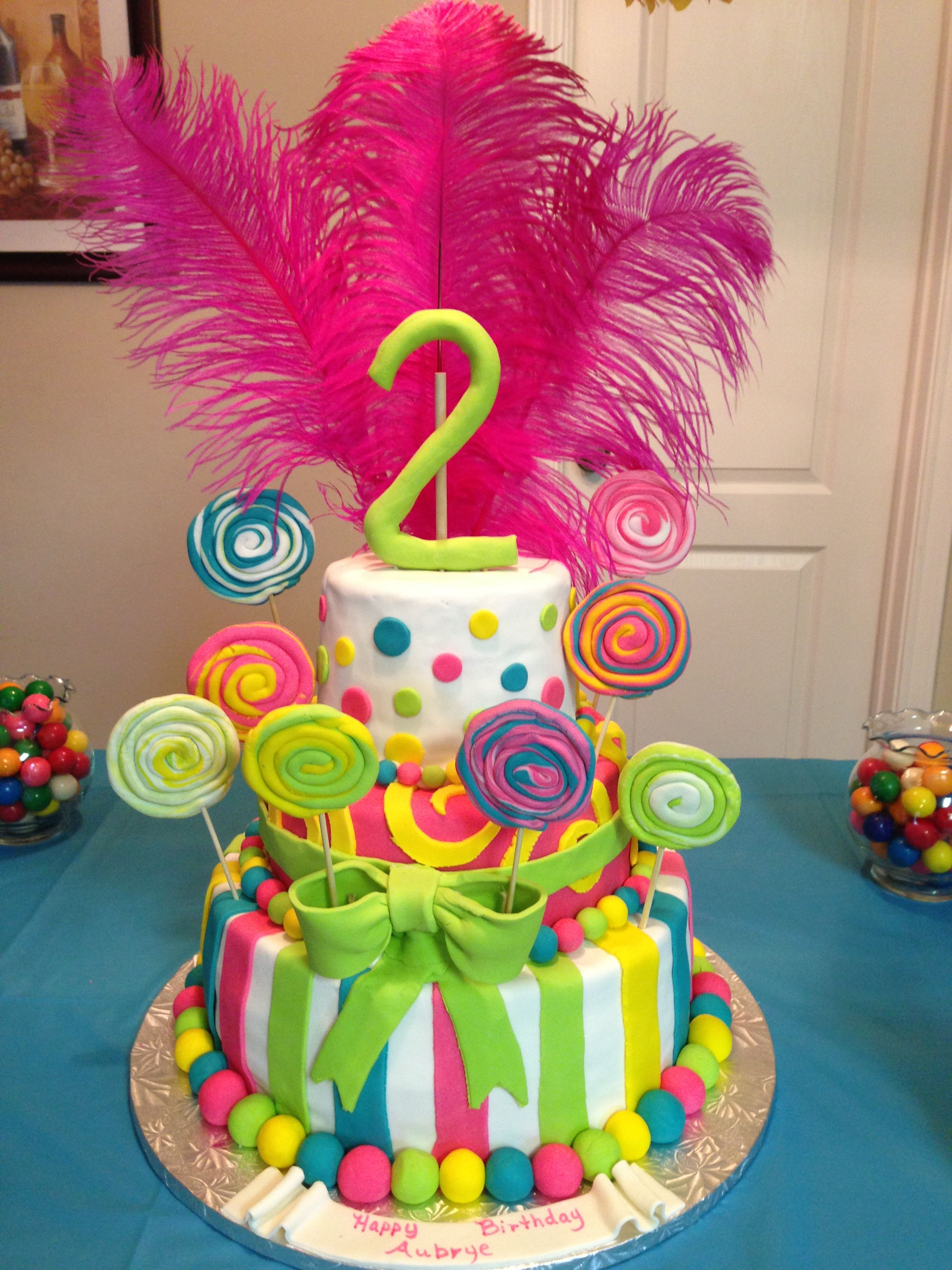 Candyland cake -- sue sues sweets on Facebook | Susan\'s Pins ...