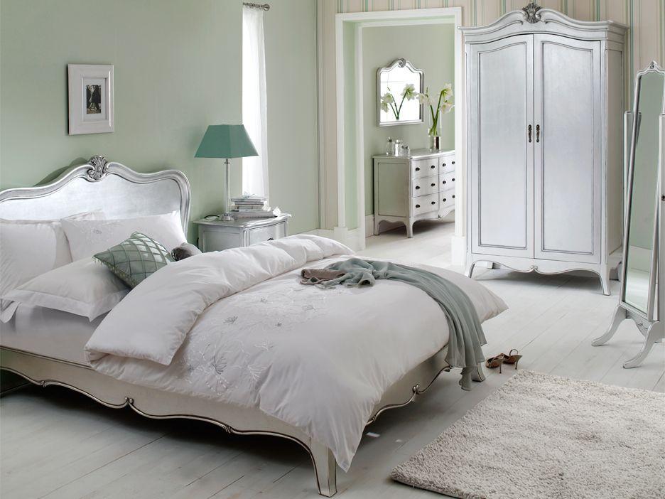 Slaapkamer met accentkleur mintgroen | Slaapkamer luxueus ...