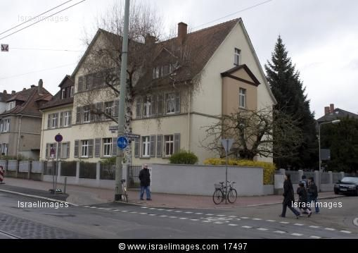 The House In Marbachweg 307, Frankfurt, Where Anne Frank