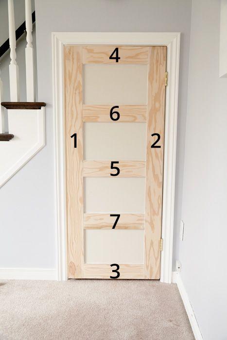 DIY Shaker Door & DIY Shaker Door | Slab doors Shaker doors and Plywood Pezcame.Com