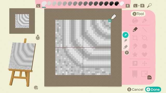 ACNH Zen Garden in 2020 | New animal crossing, Grid design ...