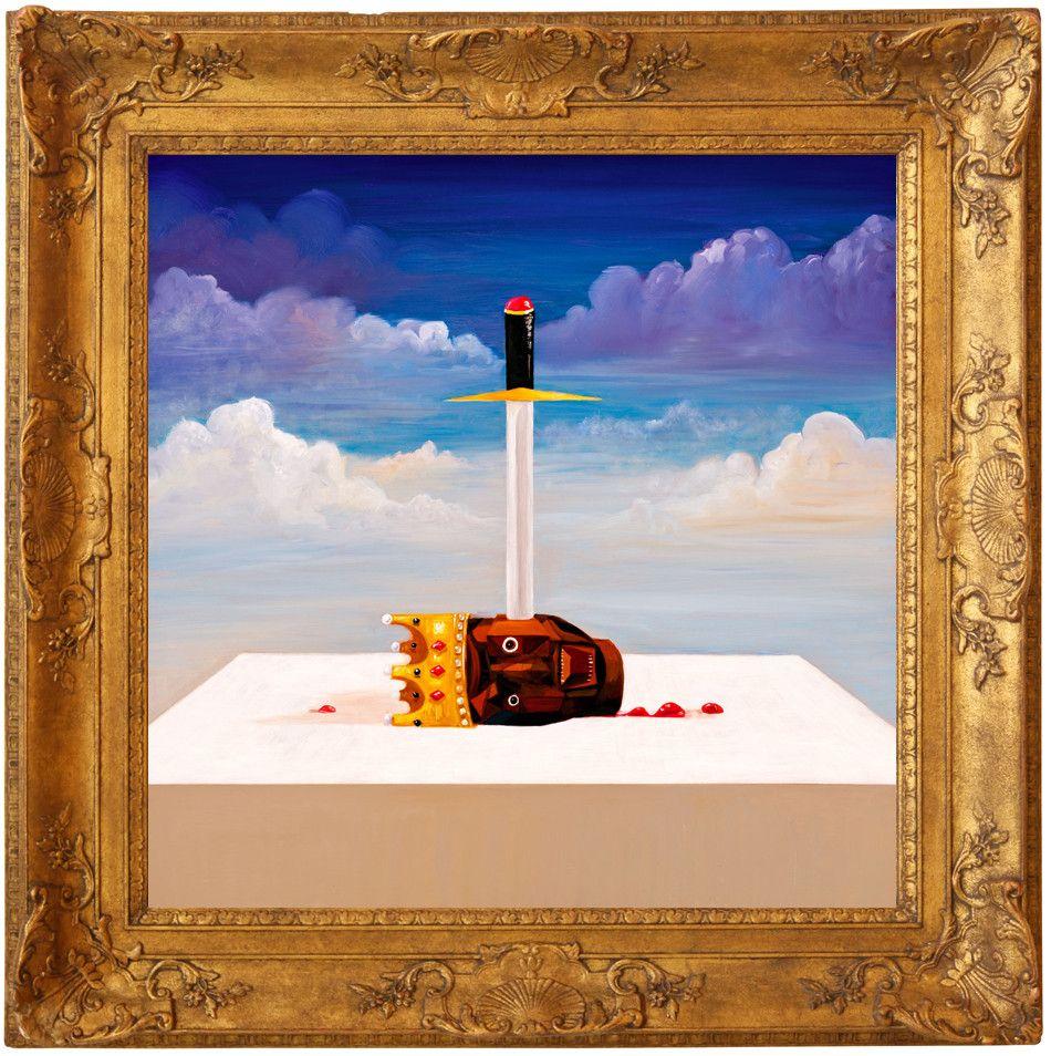 Power Kanye West Beautiful Dark Twisted Fantasy Kanye West Album Cover Kanye West Power