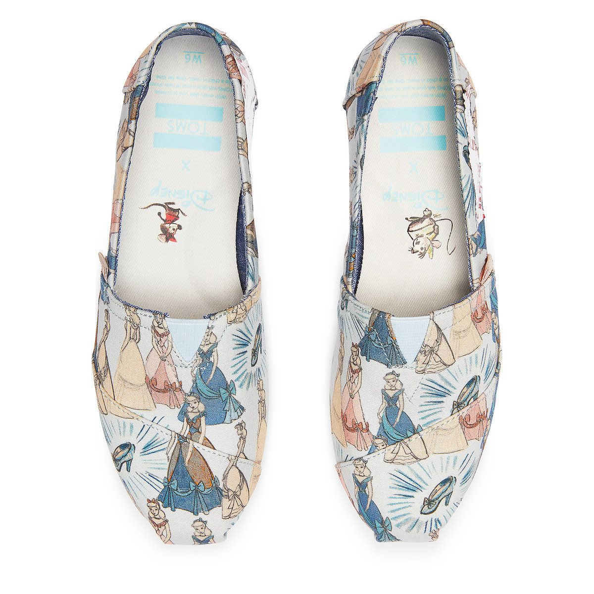 2446aedc385 Product Image of Cinderella Alpargatas Shoes for Women by TOMS   2
