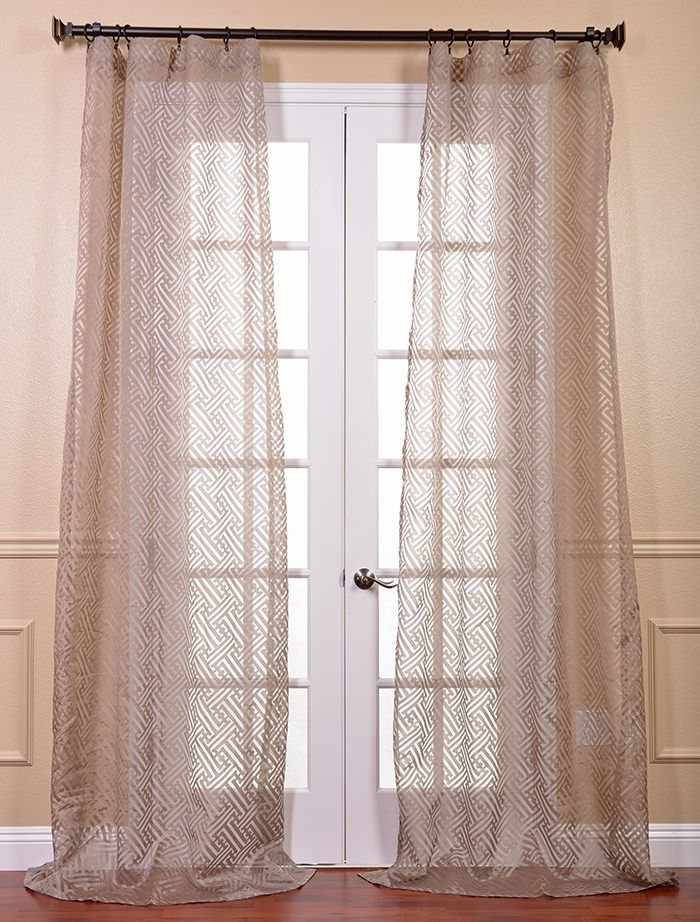 productdetail htm printed martinique panel drapes cotton curtain price inch taupe single x pan prct half coupon