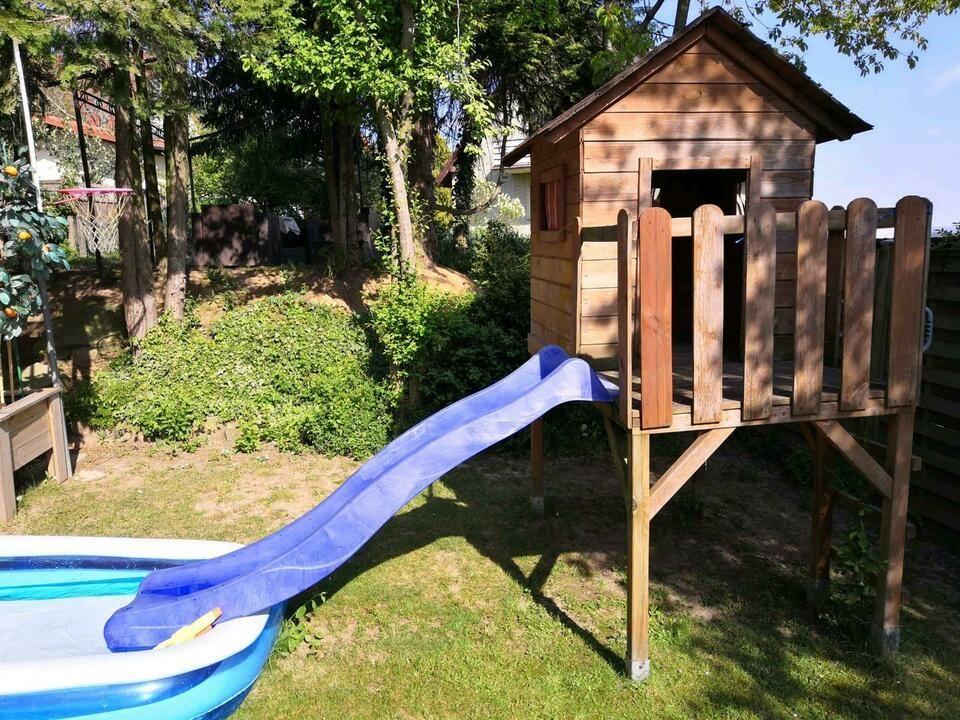 Stelzenhaus Holzhaus Spielhaus Mit Rutsche Kinder Garten Haus In Niedersachsen Rinteln Spielzeug Kinder Garten Spielzeug Draussen Spielhaus Mit Rutsche
