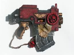 I want this gun for HvZ - commissioned warhammer Nerf gun -drool-