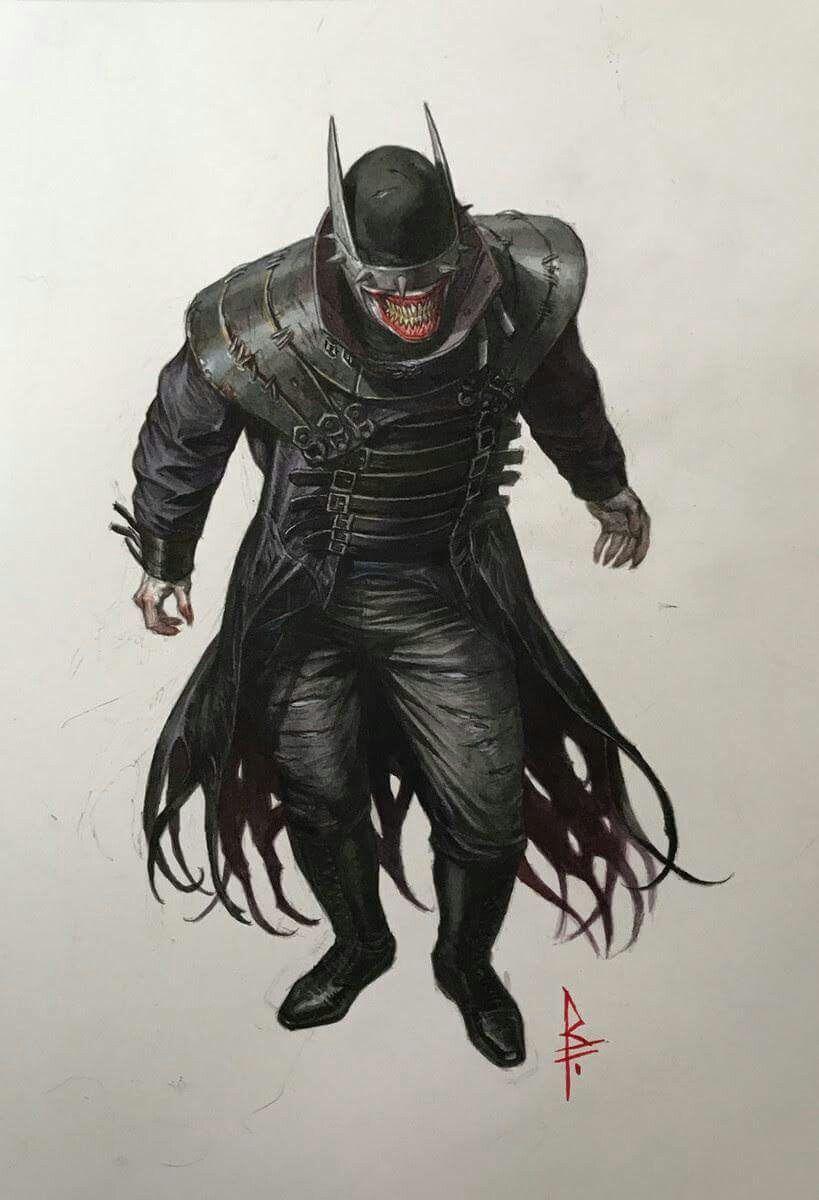 کمیک زبان اصلی Batman: The Man Who Laughs 