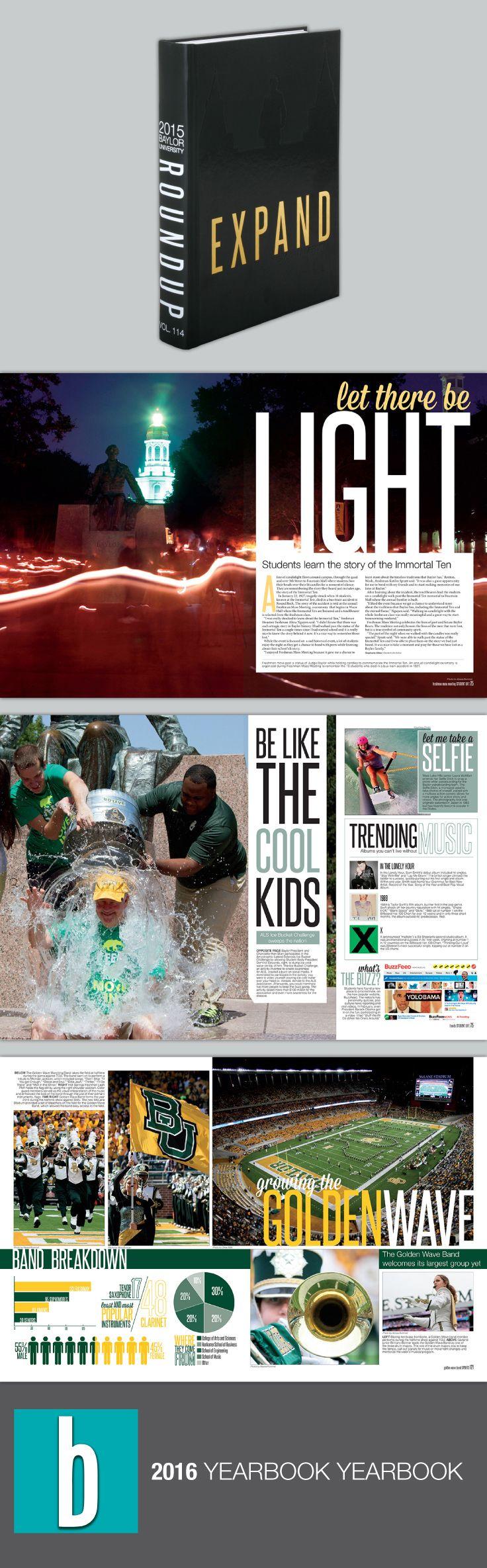 ROUNDUP Baylor University Waco Texas Yearbook Theme Pinterest