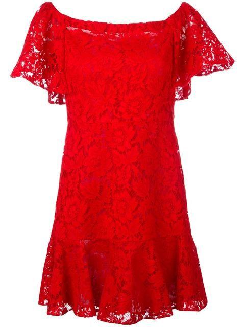 VALENTINO 기퓌르 레이스 미니 드레스. #valentino #cloth #드레스