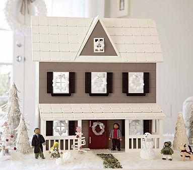 Danbury Dollhouse #PotteryBarnKids - $249