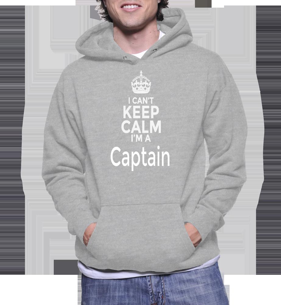 I Can't Keep Calm I'm A Captain Hoodie