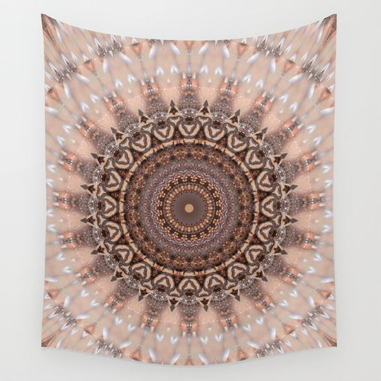 Buy Mandala Romantic Pink Wall Tapestry By Christine Baessler Worldwide Shipping Available At Society6