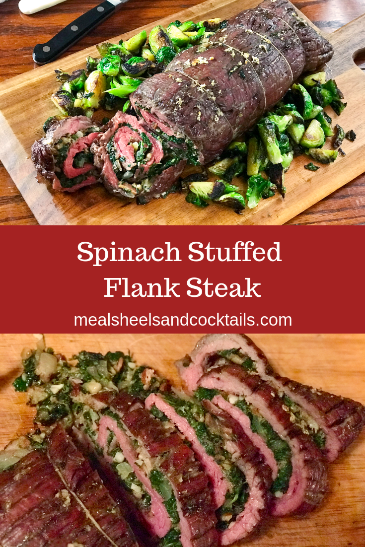 Spinach Stuffed Flank Steak #recipesforflanksteak
