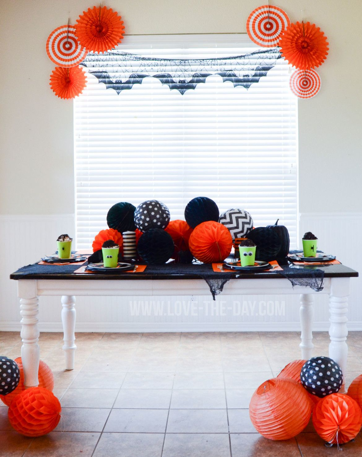 Halloween Party Ideas & Frankenstein Oreo Pudding Cup Tutorial by Love The Day