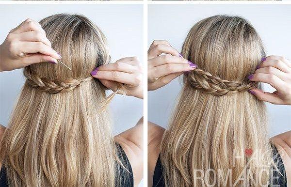 5 Peinados Faciles Para Diario Paso A Paso Peinados Pinterest