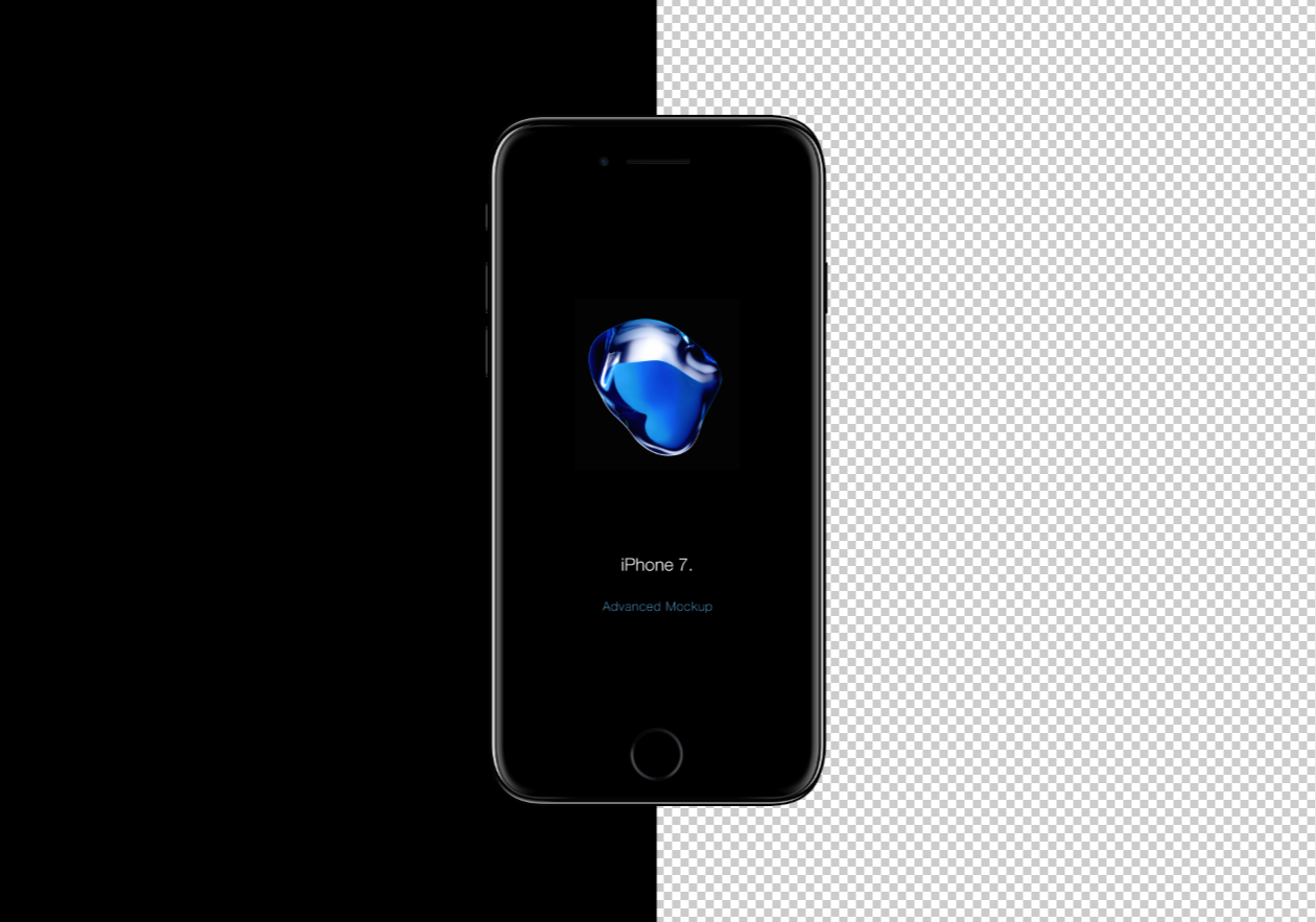 Free Iphone 7 Mockup Psd Graphic Pear Free Photoshop