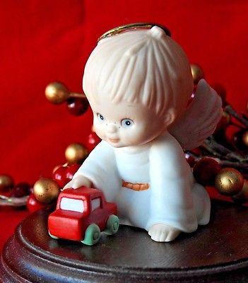 Enesco Holly Babes Ruth Morehead Christmas Angel girl Gingerbread ...
