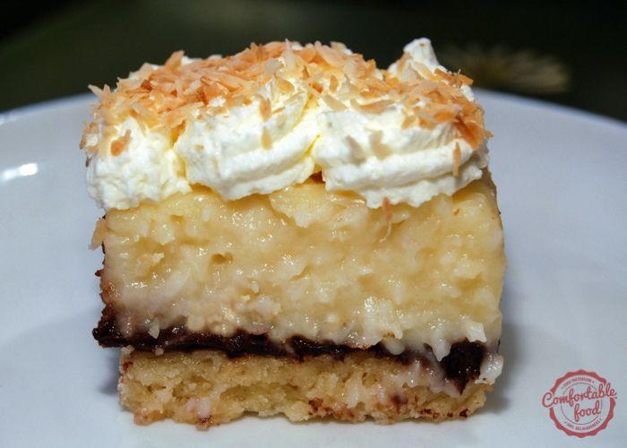 A crunchy shortbread crust is the perfect base for these coconut cream pie bars. With a layer of chocolate ganache in between, these bars will quickly become your favorite dessert. from: ben rayl …