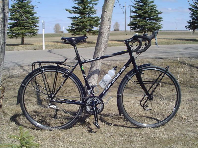 Touring Bike Geometry Sloping Vs Straight Top Tube Dengan Gambar