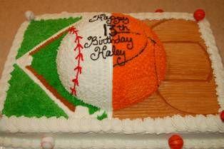 12 12 sports cake Creative Cakes Pinterest Cake Birthdays