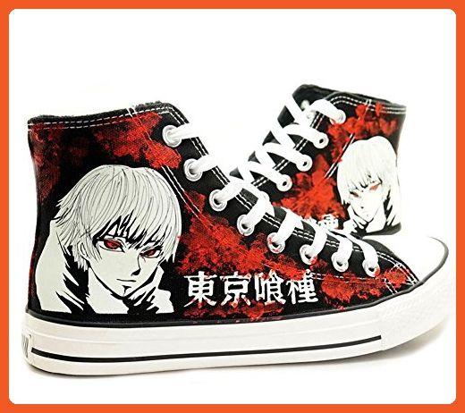 eb2bec98ec317 Tokyo Ghoul Kaneki Ken Cosplay Shoes Canvas Shoes Sneakers Luminous ...