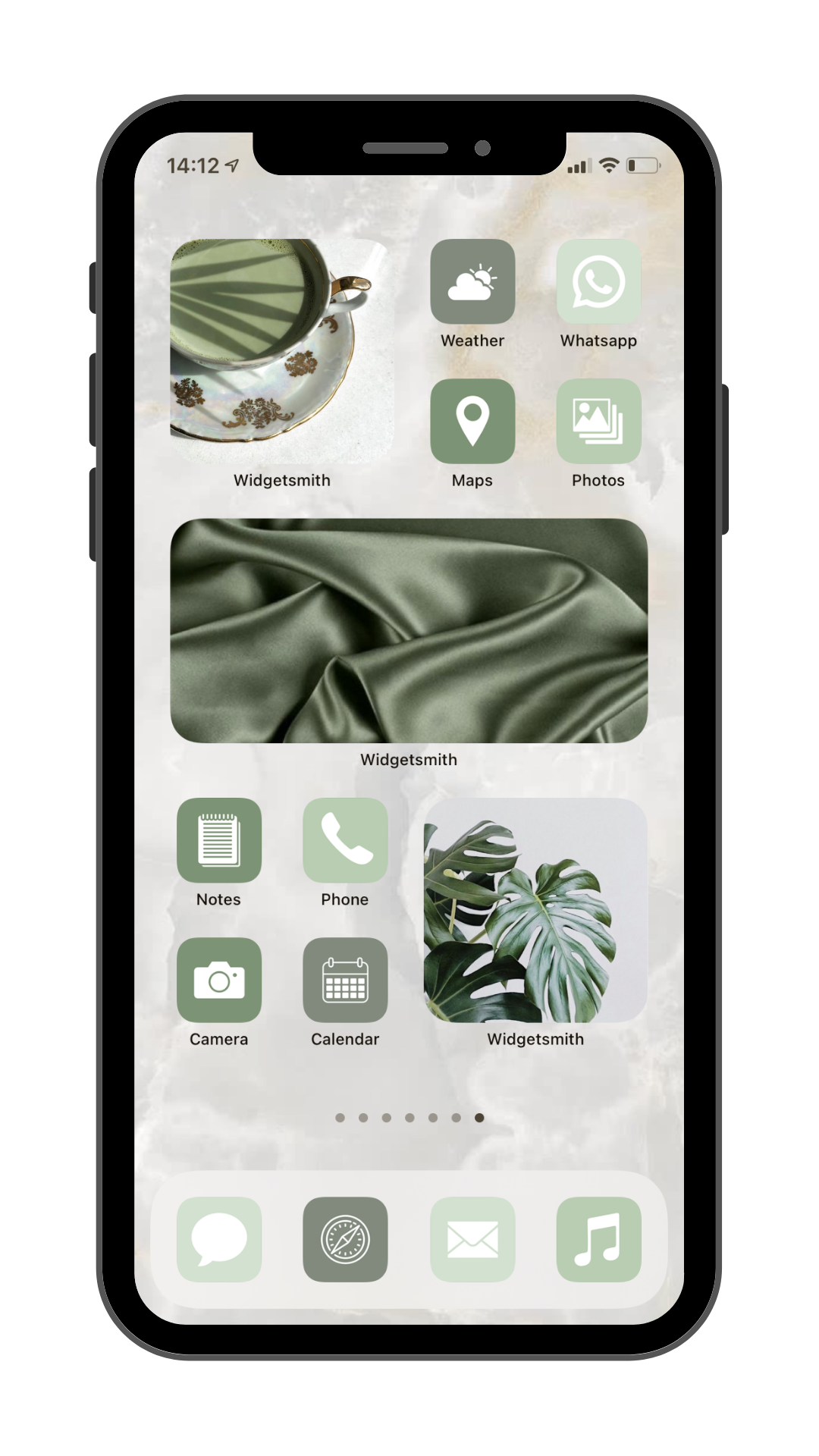 Green Matcha Aesthetic-green home screen aesthetic-matcha green aesthetic-matcha icons-matcha green