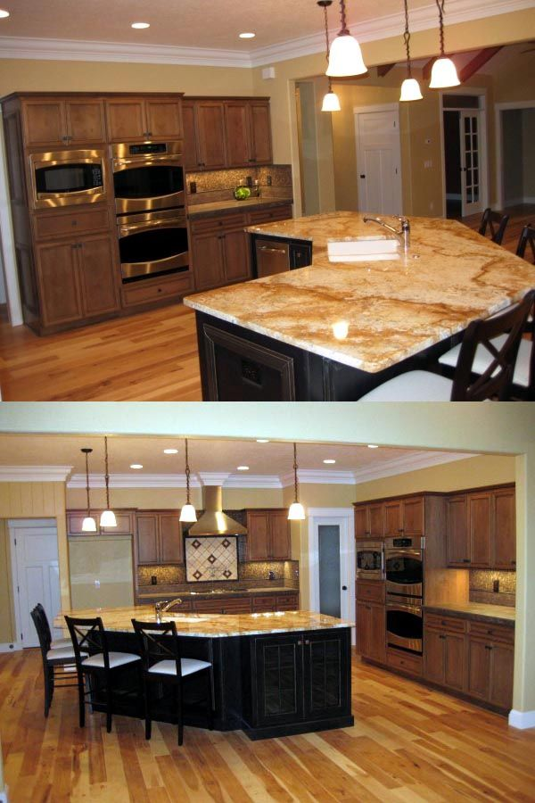 The open kitchen an entertaining dream homes plans for Entertaining kitchen designs