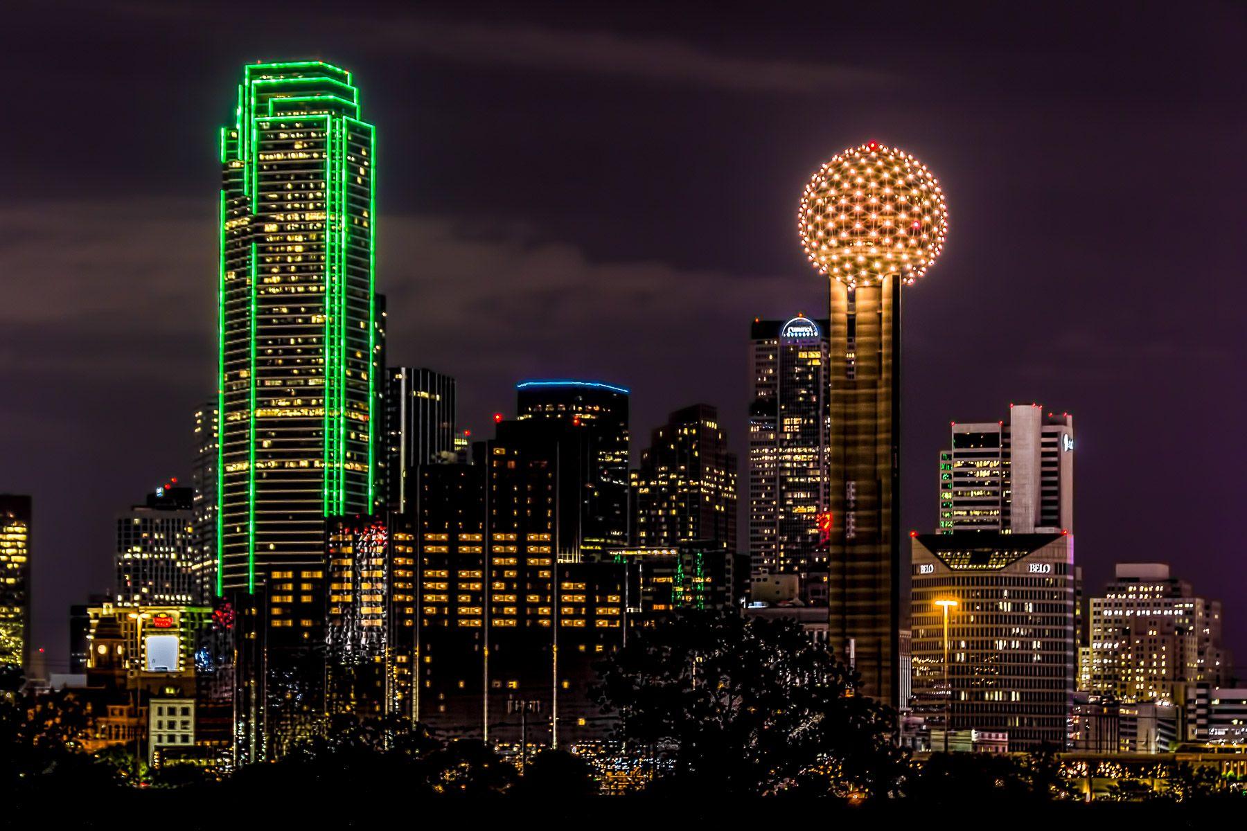 dallas skyline wallpaper  Dallas Skyline Wallpaper | Downtown Dallas Skyline | Dallas ...
