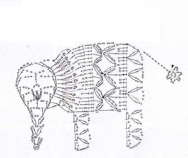 Pin de Arminda Do en crochet   Pinterest   Esquemas, Mariposas y Tejido