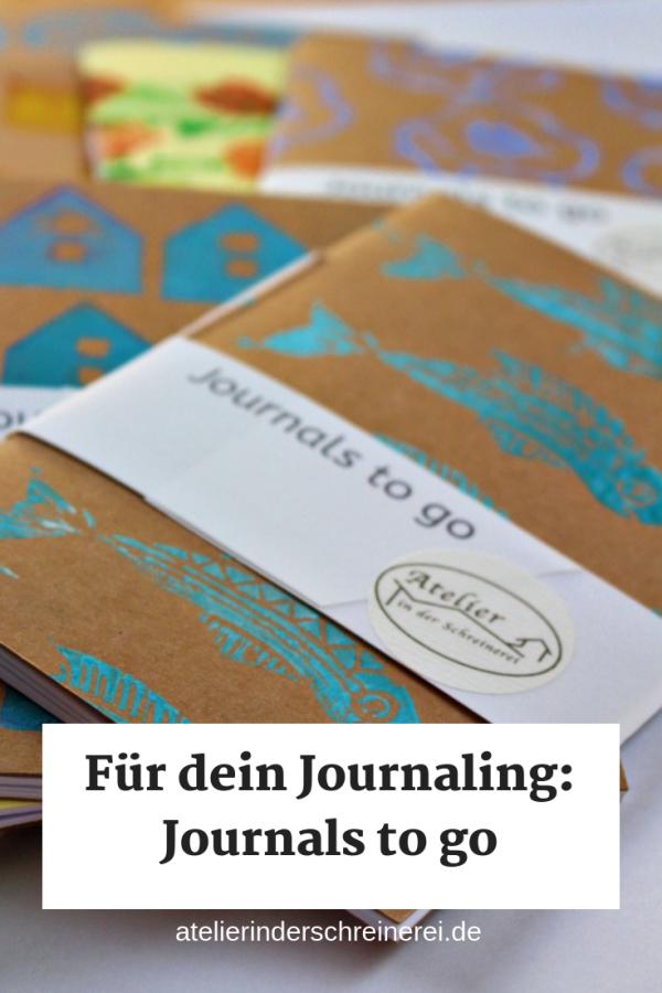 Journals to go - für Gedanken und Gedichte, Ideen und alles, was nicht vergessen werden darf. Unsere Journals sind 14,5x10cm groß und handgefertigt. Jedes ist ein Original. #artjournal #inspiration #skizzenbuch #cover
