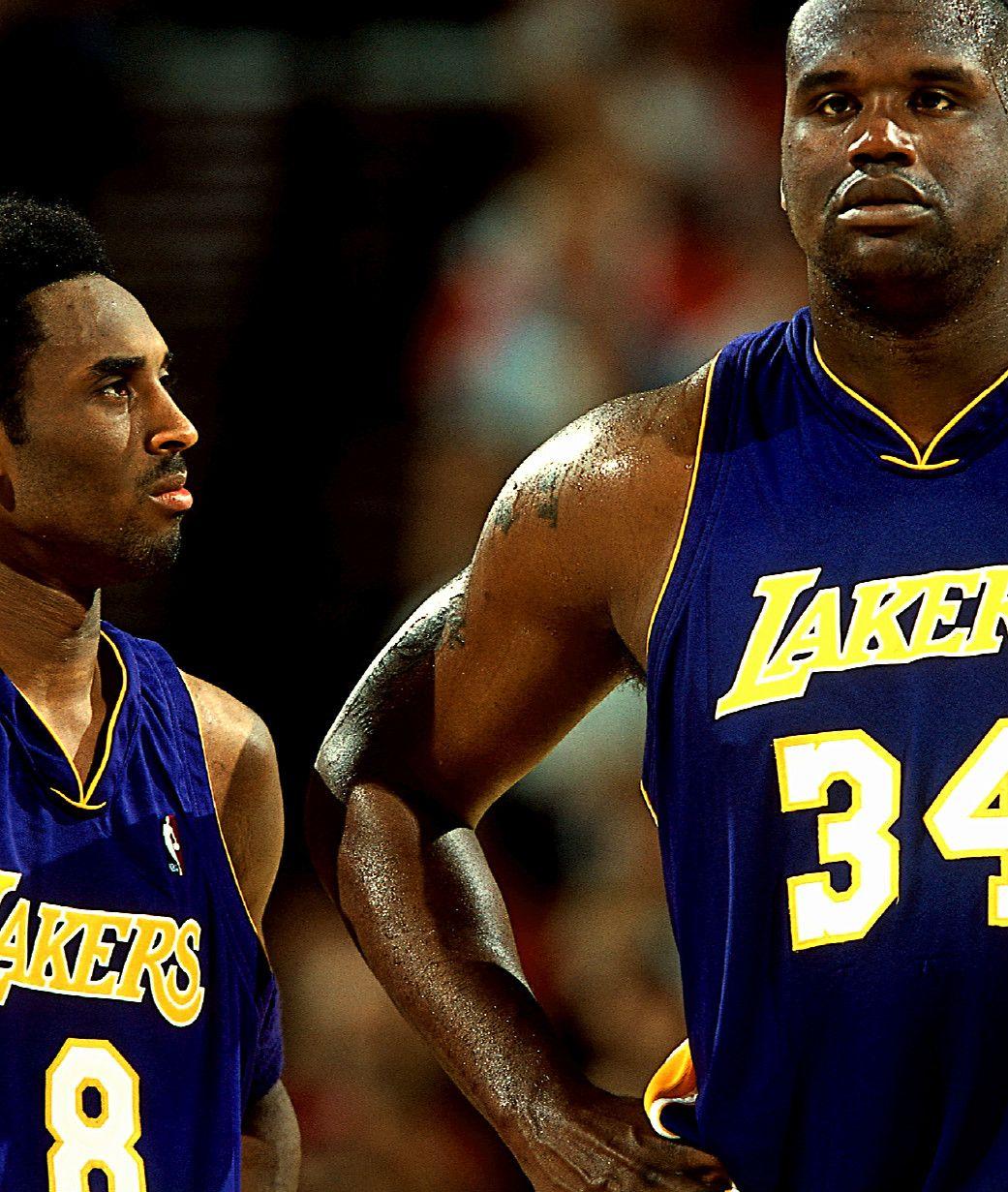 Kobe & Shaq Kobe lebron, Sports basketball, La lakers