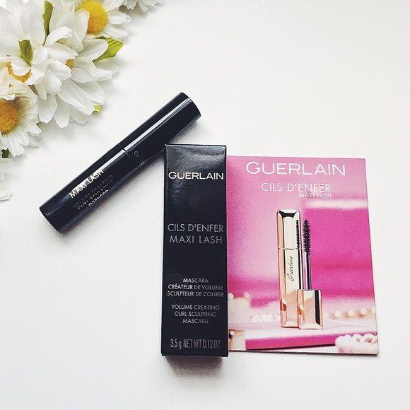 Guerlain Cils D Enfer Maxi Lash Mascara Mini Mascara Lashes Guerlain Makeup Mascara
