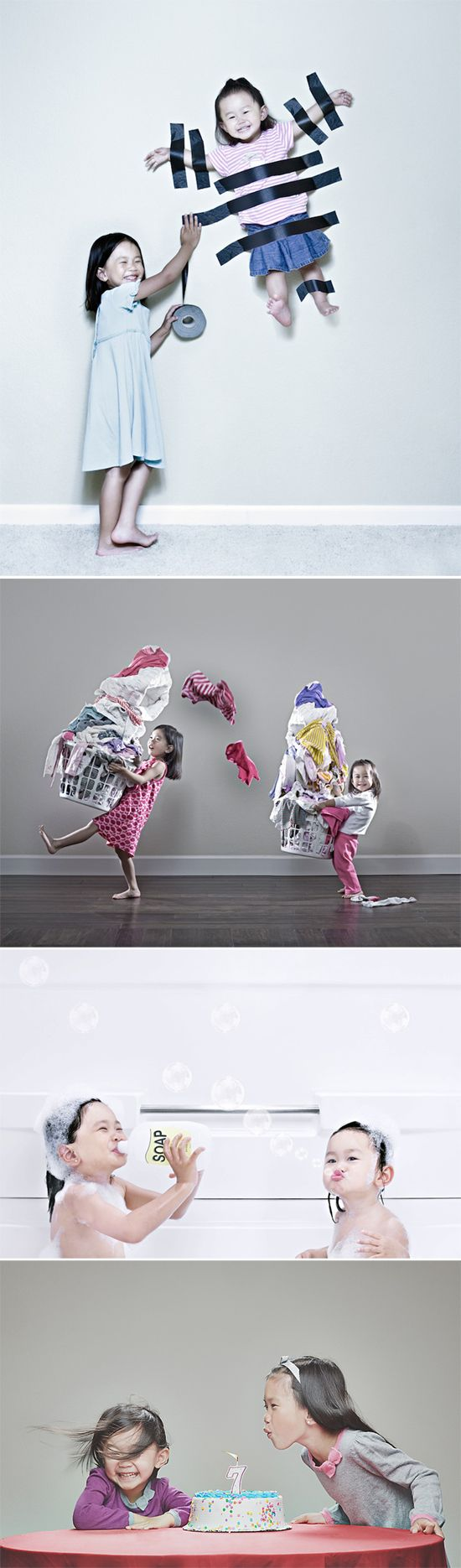 Fácil y Sencillo: 2 Ejemplos de Fotos en Familia Originales y Exitosas