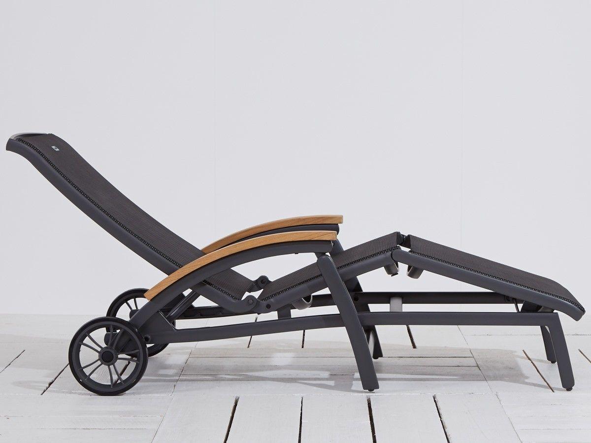 Da Vinci Tuinmeubelen.Hartman Da Vinci Ligbed Met Wiel Dakterras Furniture En Desk