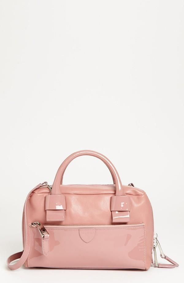 0c8bd58d9419 MARC JACOBS Rosewood Pink Pastel Patent Leather Crossbody
