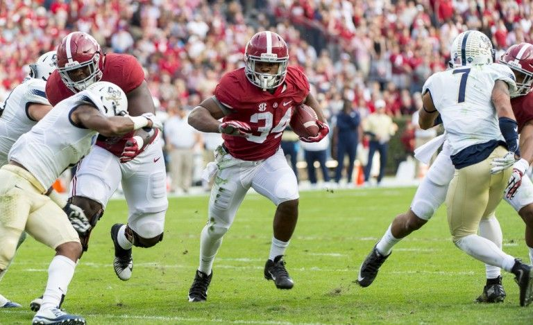 Tide Had Plan For Resting Henry Testing Former 5 Stars Alabama Kenyan Drake Alabama Athletics