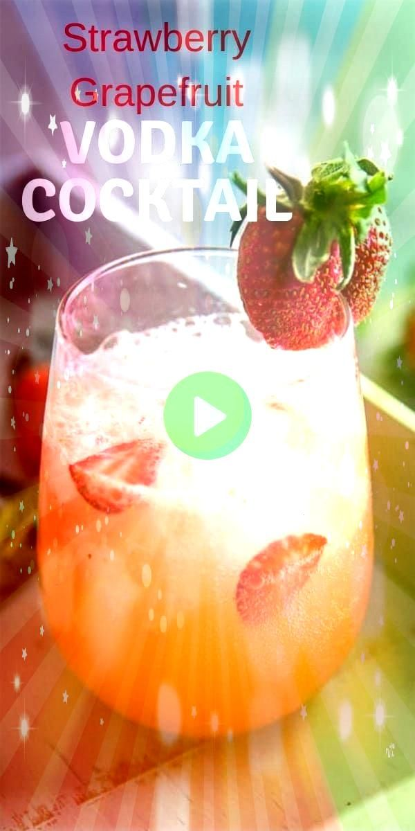 sweet and tangy grapefruit vodka cocktail has a crisp refreshing taste This citrusy cocktail takes summer sipping to new heightsThis sweet and tangy grapefruit vodka cock...
