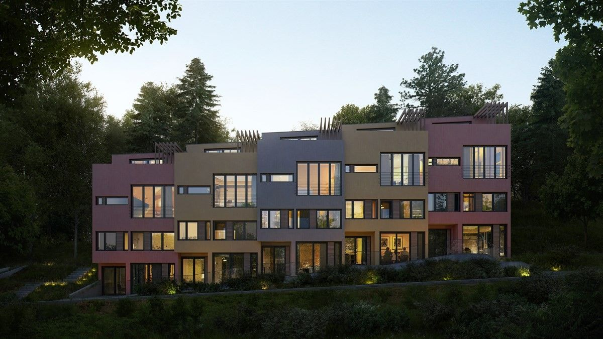 (23) FINN – Adamstuen - 5 unike townhouse med takterrasse, garasje og  mulighet · TownhouseTerraced House