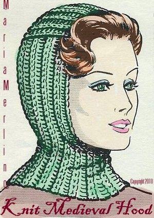 Knit Medieval Hood Helmet Hat Free Pattern   Knitted/Crochet ...