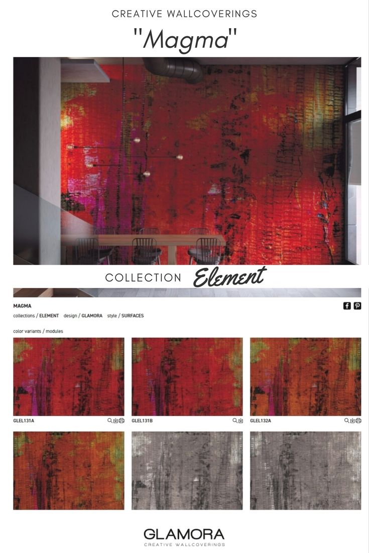 Magma: Visions of rocks, leaves and branches through a diaphanous veil of water. A romantic view of nature, interpreted through the use of various painting techniques, from watercolours to matter.