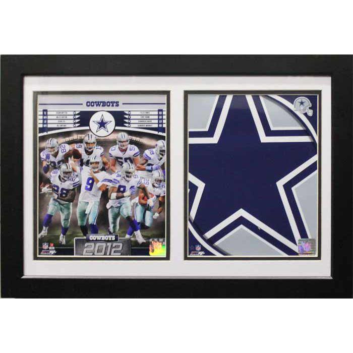 Encore Select 2012 Dallas Cowboys Custom Double Frame