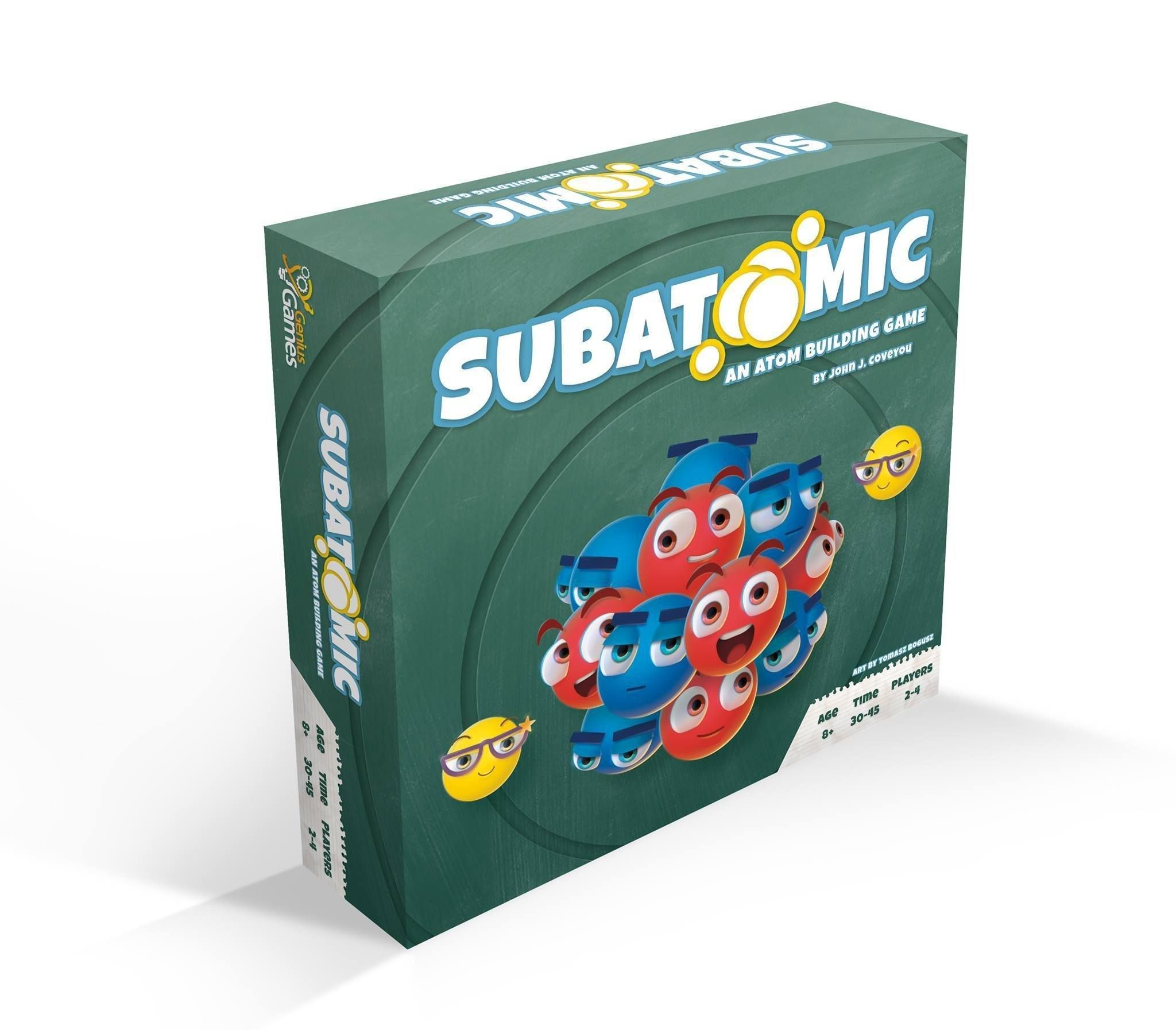 Subatomic An Atom Building Game Pre Order