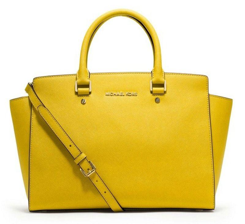 Yellow Michael Kors | Handbags michael kors, Michael kors