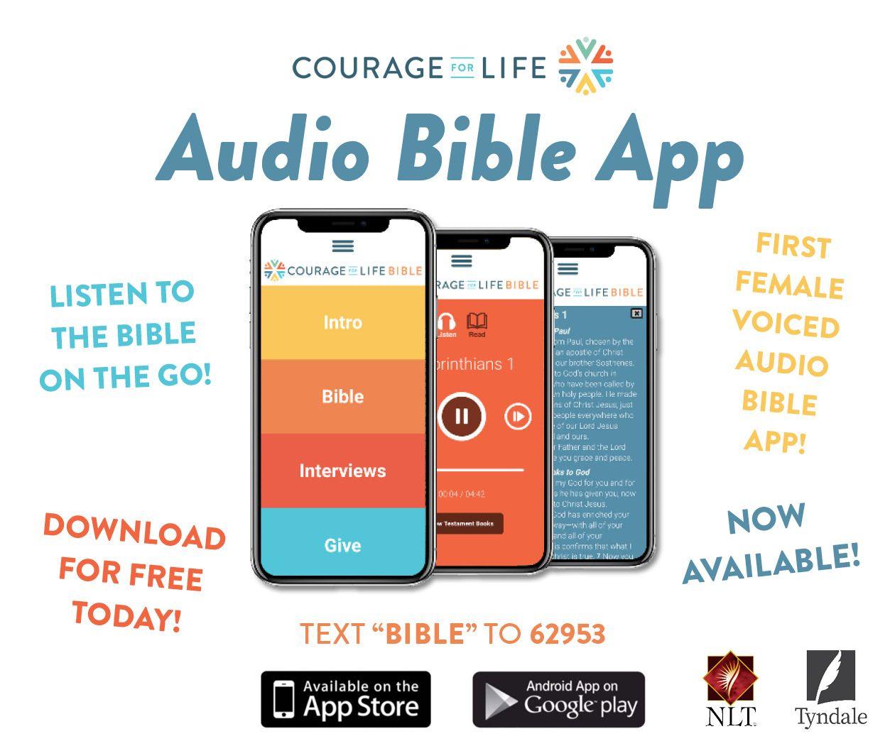 Audio Bible App in 2020 Bible apps, Audio bible, Bible