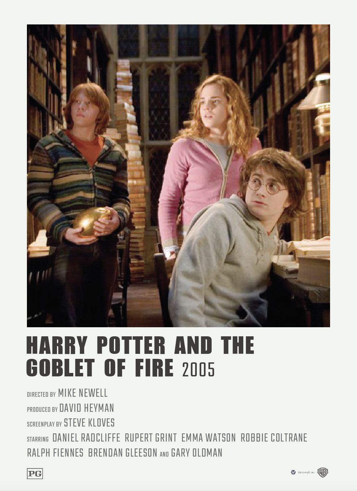 Alternative Minimalist Polaroid Movie Poster Harry Potter And The Goblet Of Fire Film Posters Minimalist Harry Potter Poster Harry Potter Movie Posters