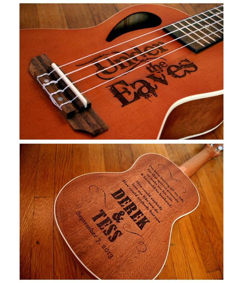 Personalized laser engraved ukulele for a wedding gift lyrics of a personalized laser engraved ukulele for a wedding gift lyrics of a song the bride and stopboris Images