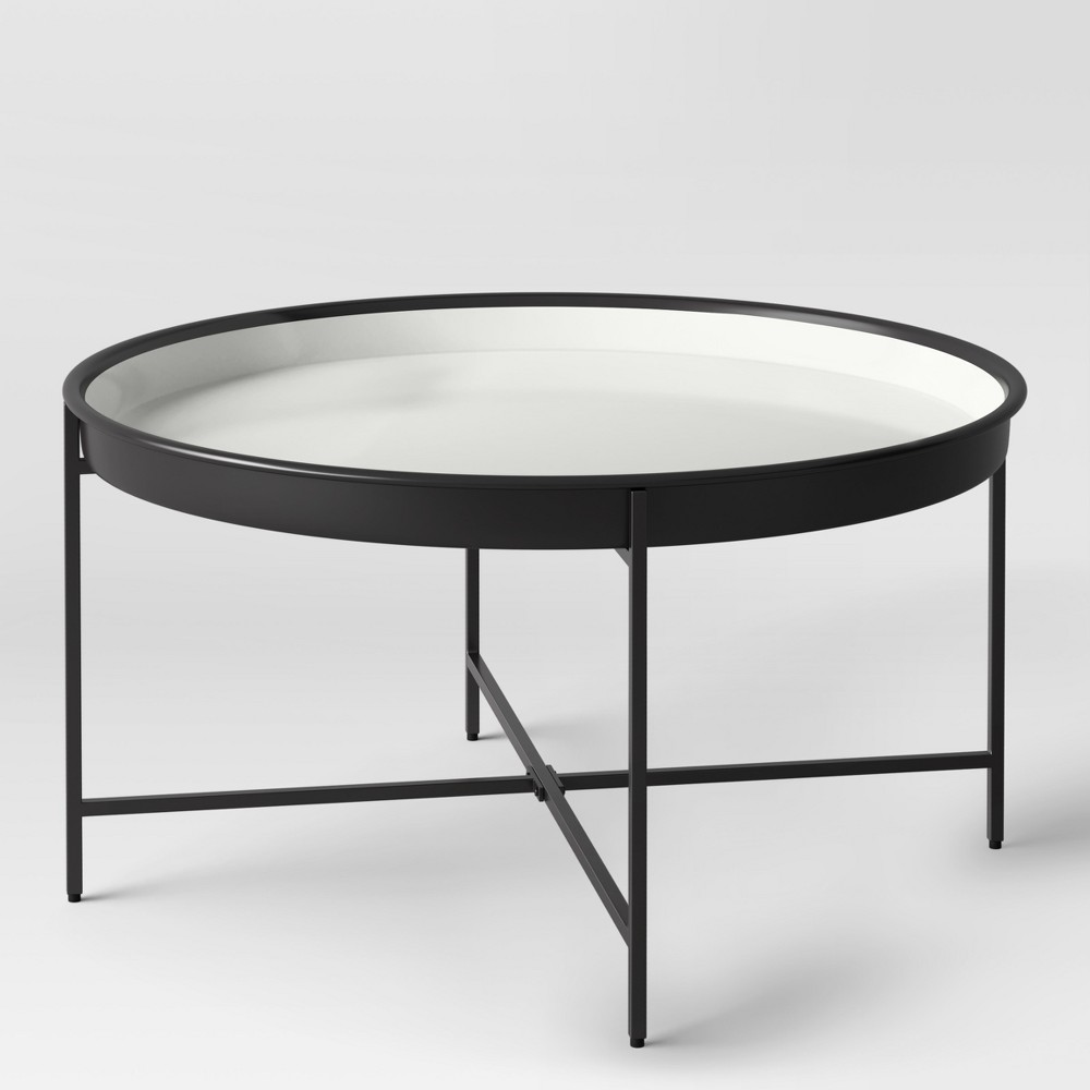 Pradet Tray Coffee Table Black White Project 62 Target Coffee